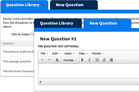 Varsity Tutors Learning Tools Question Library