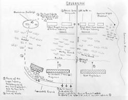 Savannah Battle Map