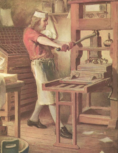 Ben Franklin Print Shop