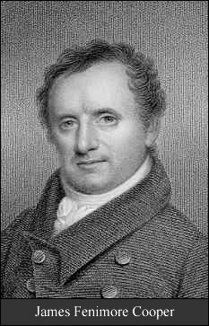 James Fenimore Cooper, author of The Spy