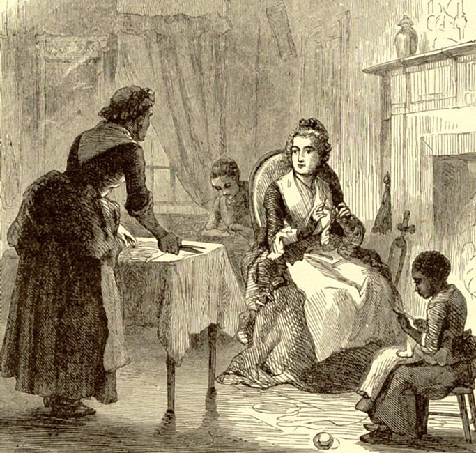 1800 S Colonial Scene On Demand
