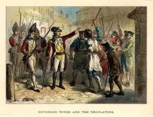 Gov. Tryon and the Regulators