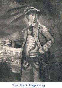 The Hart engraving of Benedict Arnold