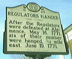 Regulators Hanged