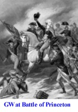 George Washington Battle at Princeton