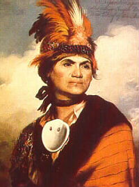 Mohawk Chief, Loyalist, and Freemason Joseph Brant
