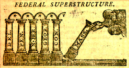 Federal superstructure cartoon