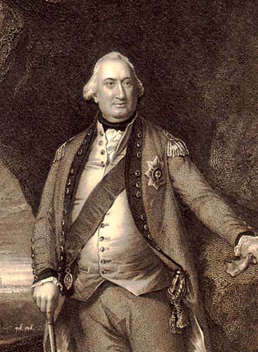 Gen. Charles Cornwallis, British General during the Revolutionary War