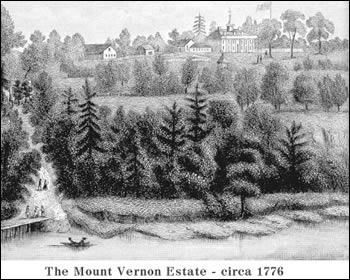 The Mount Vernon Estate - circa 1776