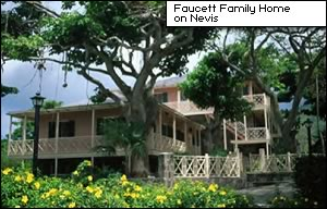 Faucett Family Home on Nevis