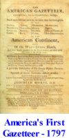 America's 1st Gazetteer from 1797
