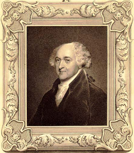 John Adams, Founding Father and Second President of the United States