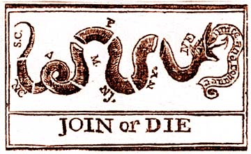 Join or Die: The work of Gazette printer Benjamin Franklin