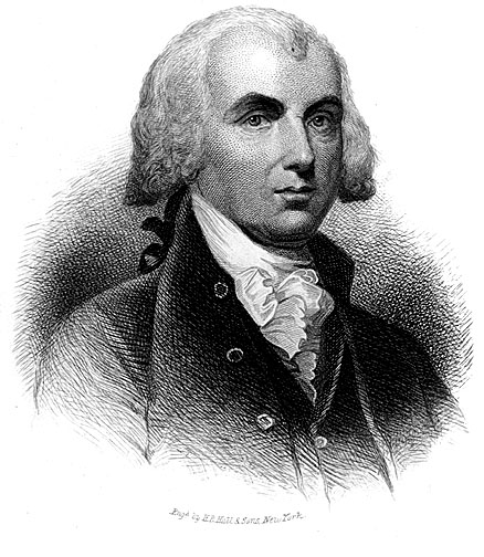 Portrait of James Madison
