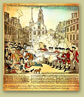 Paul Revere's Engraving of the Boston Massacre