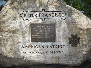Monument to Peter Francisco