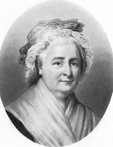 Martha Washington in her later years