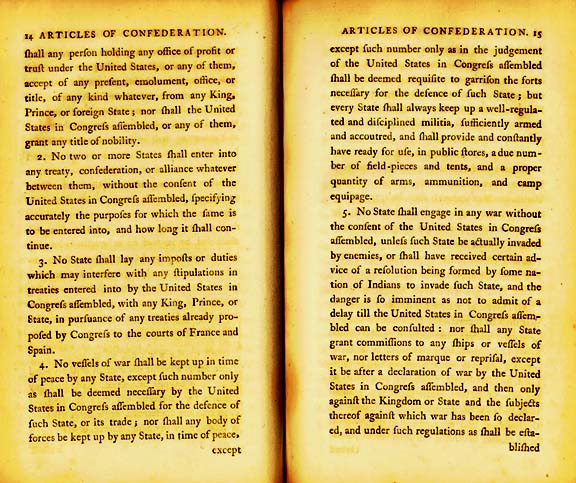 The Articles of Confederation Page 3