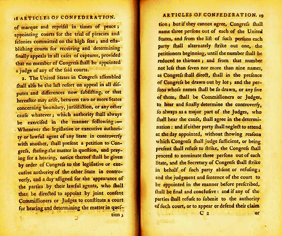 The Articles of Confederation Page 5