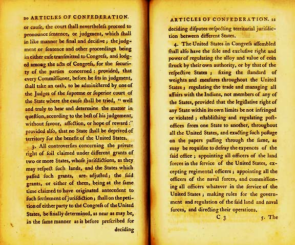 The Articles of Confederation Page 6
