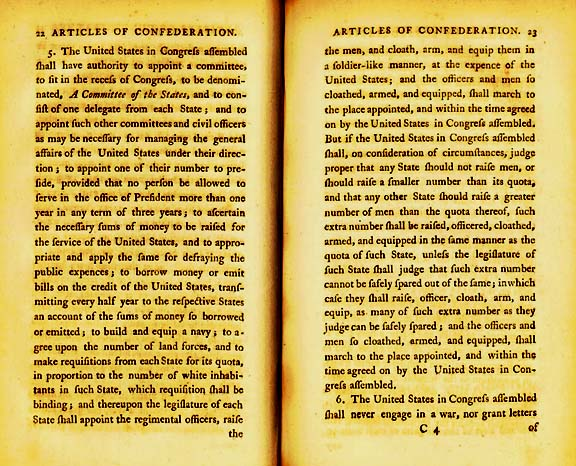 The Articles of Confederation Page 7