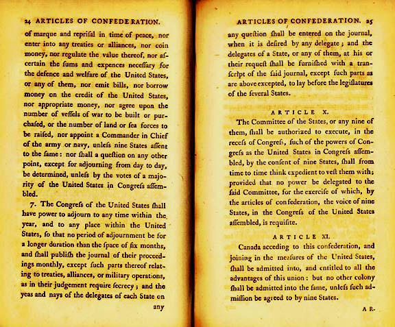 The Articles of Confederation Page 8