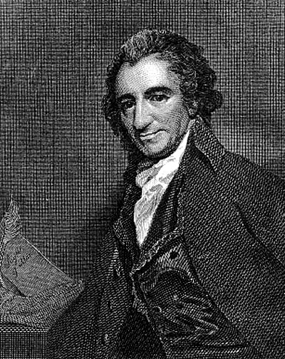 Portrait of Thomas Paine