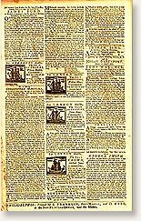 Benjamin Franklin's Pennsylvania Gazette