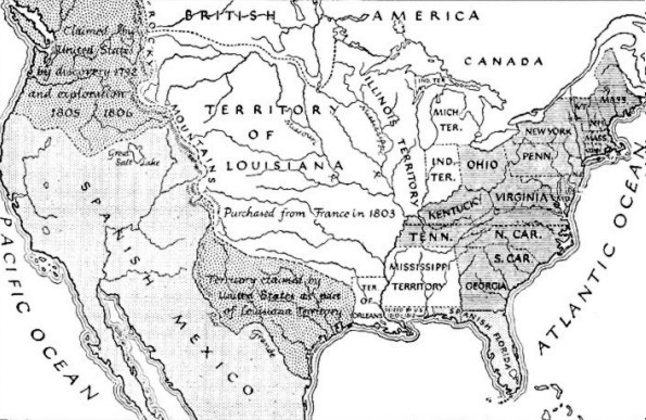 The United States in 1812   Archiving Early America