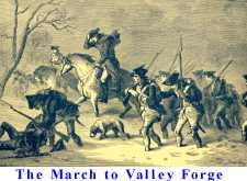 The March to Valley Forge