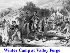 Winter Camp at Valley Forge