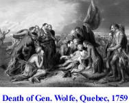 Death of General Wolfe, Quebec, 1759